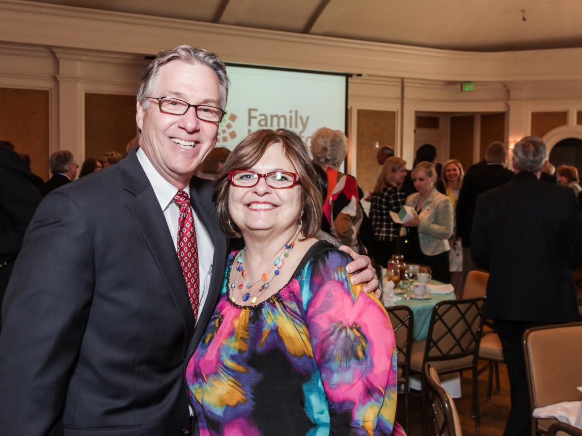 Family Houston, March 2016, Stephen Costello, Debbie Costello