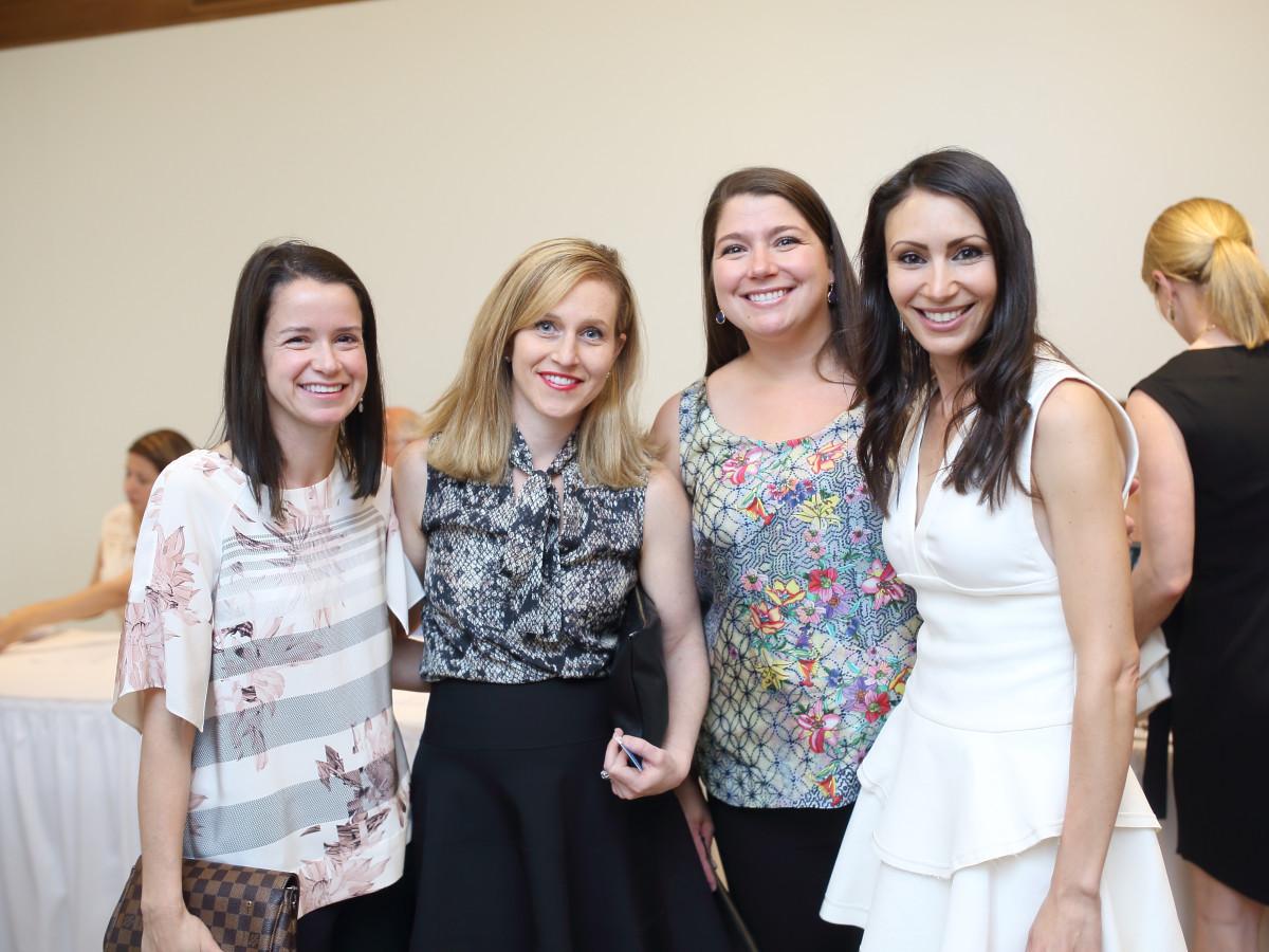 Breakthrough Houston, March 2016, Katharine Perrow, Jacqui Kneese_Sara McFaul_Nevine Webster