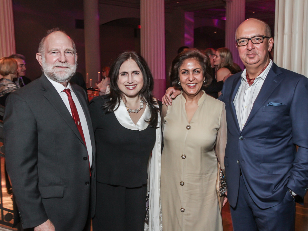 John Eldridge, Annette Eldridge, Dvika Ramchandani, Mahesh Ramchandani at Club da Camera