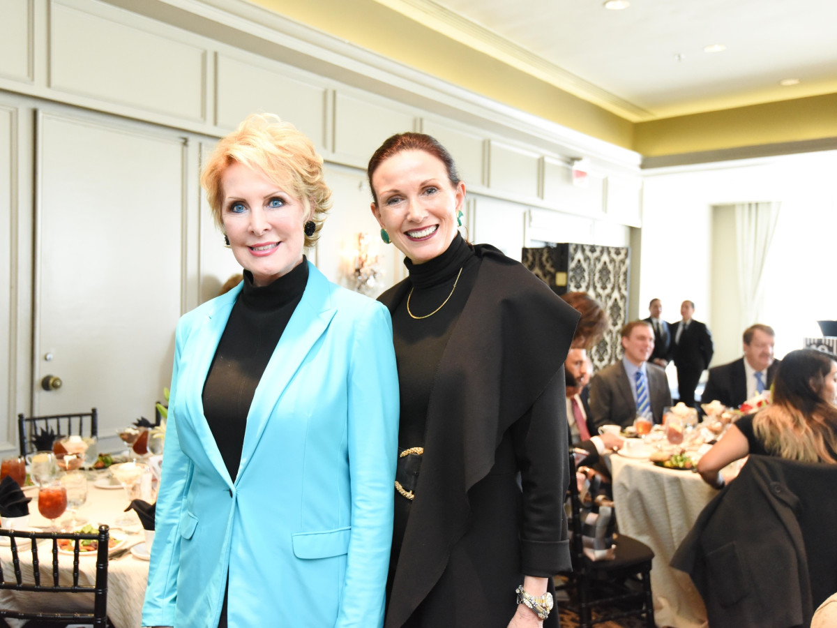 El Centro luncheon, Feb. 2016, Mary Ann Wilkins, Karen Love