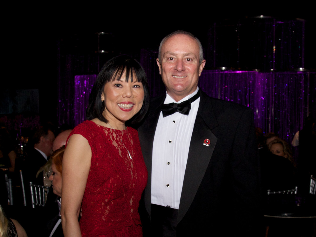 Montgomery County Heart Ball, Feb. 2016, Janet Wong, Ron Mullins