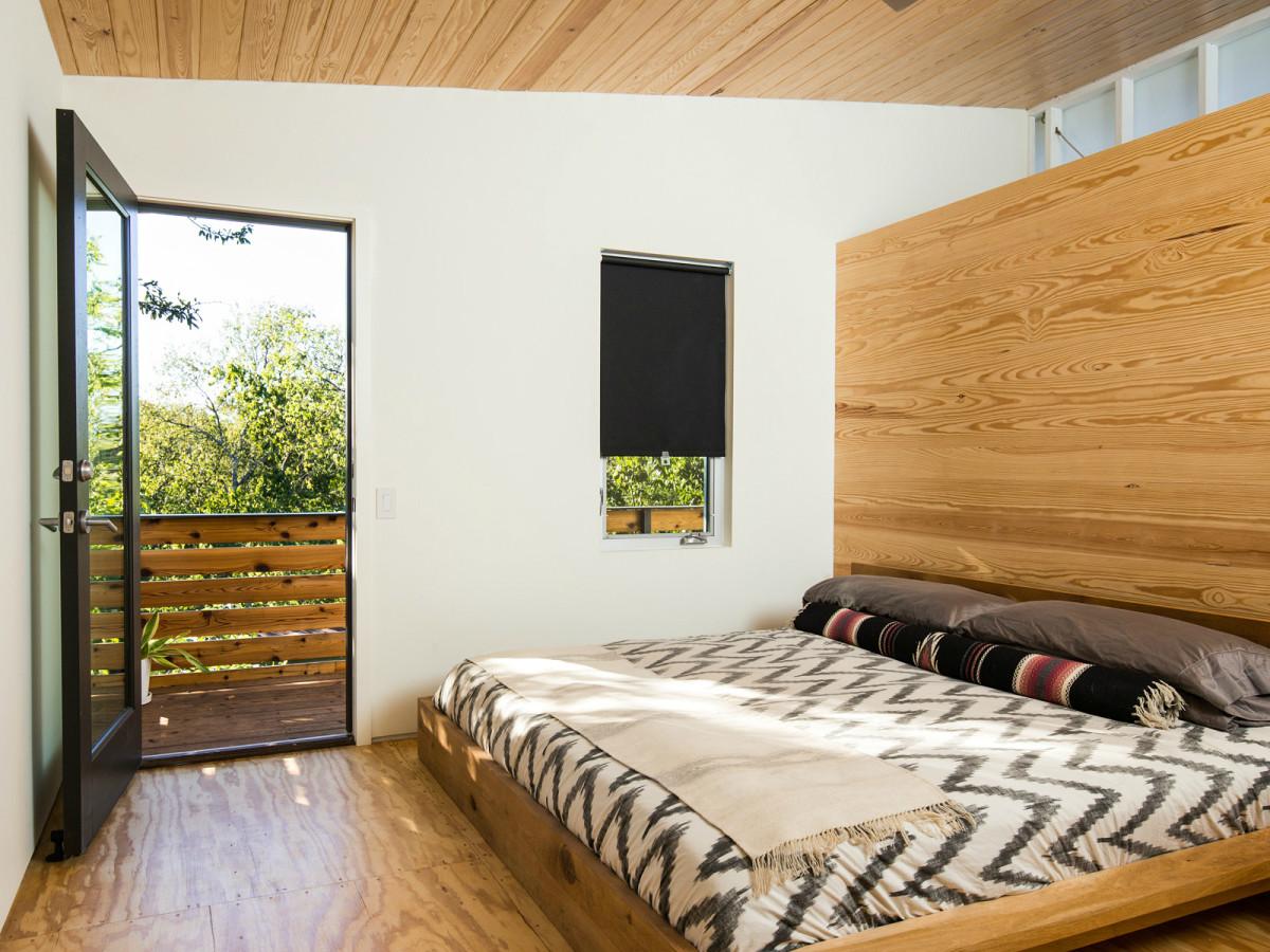 2016 Austin Modern Home Tour house 806 Lincoln Street Moontower Design Build bedroom
