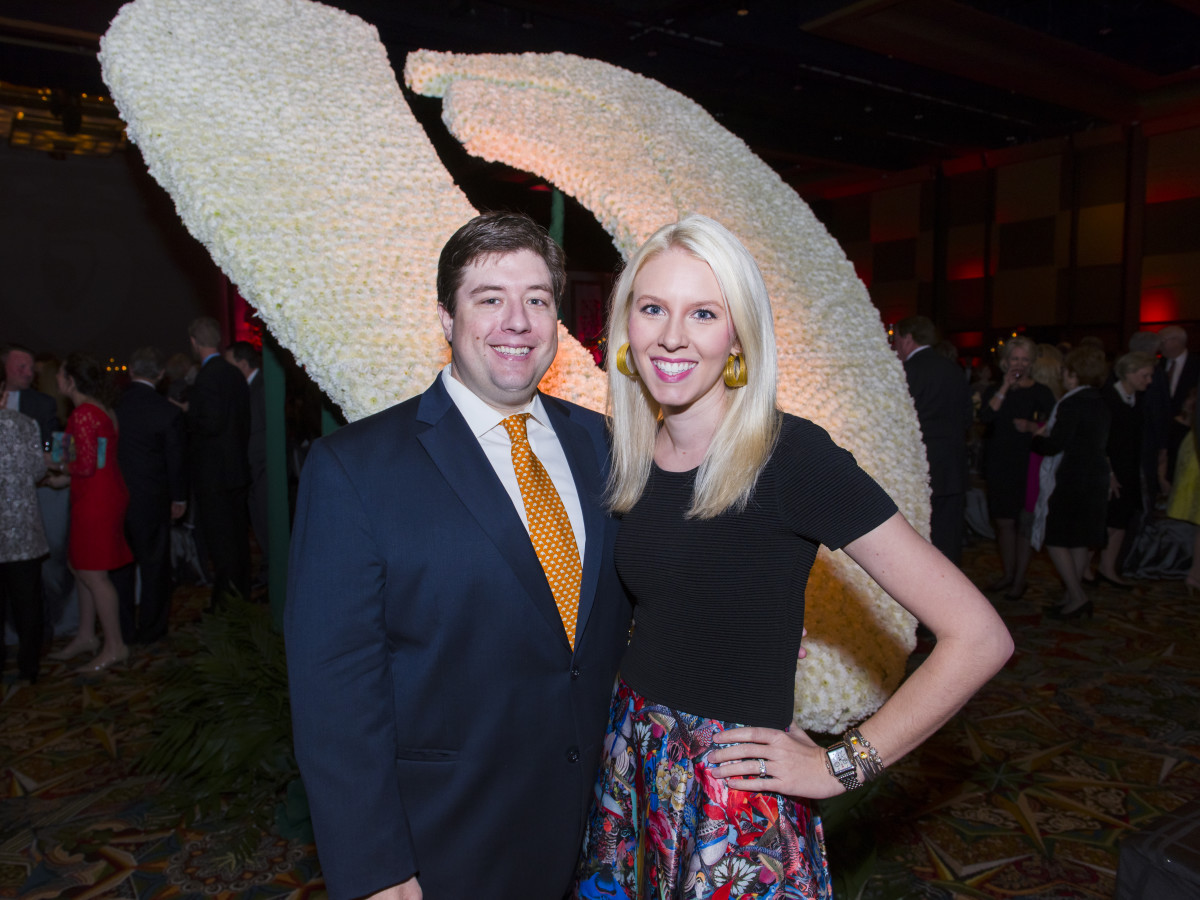 Texas Heart Institute dinner, Feb. 2016, Dr. Pete Kaldis, Dr. Leslie Kaldis