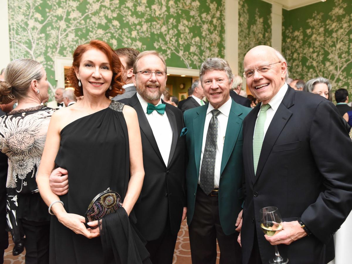 Cornerstone Dinner, Feb. 2016, Edna Ramos, John Cryer, Ed Emmett, Bob Eury