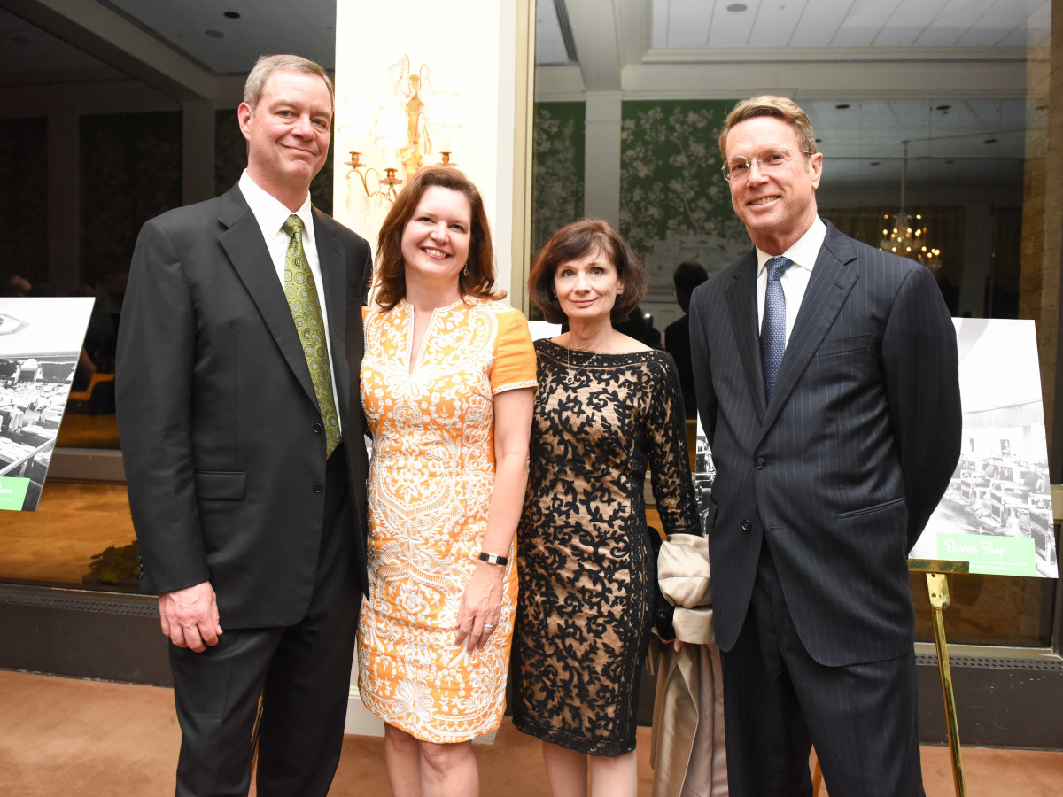 Cornerstone Dinner, Feb. 2016, Dan Piette, Doreen Stoller, Lauren Griffith, Guy Hagstette