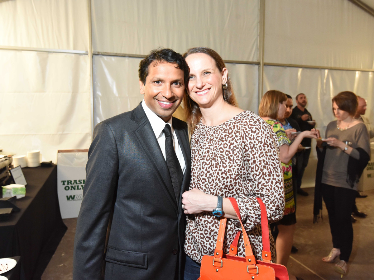 Houston Zoo Ambassadors Gala George and Meg Basu