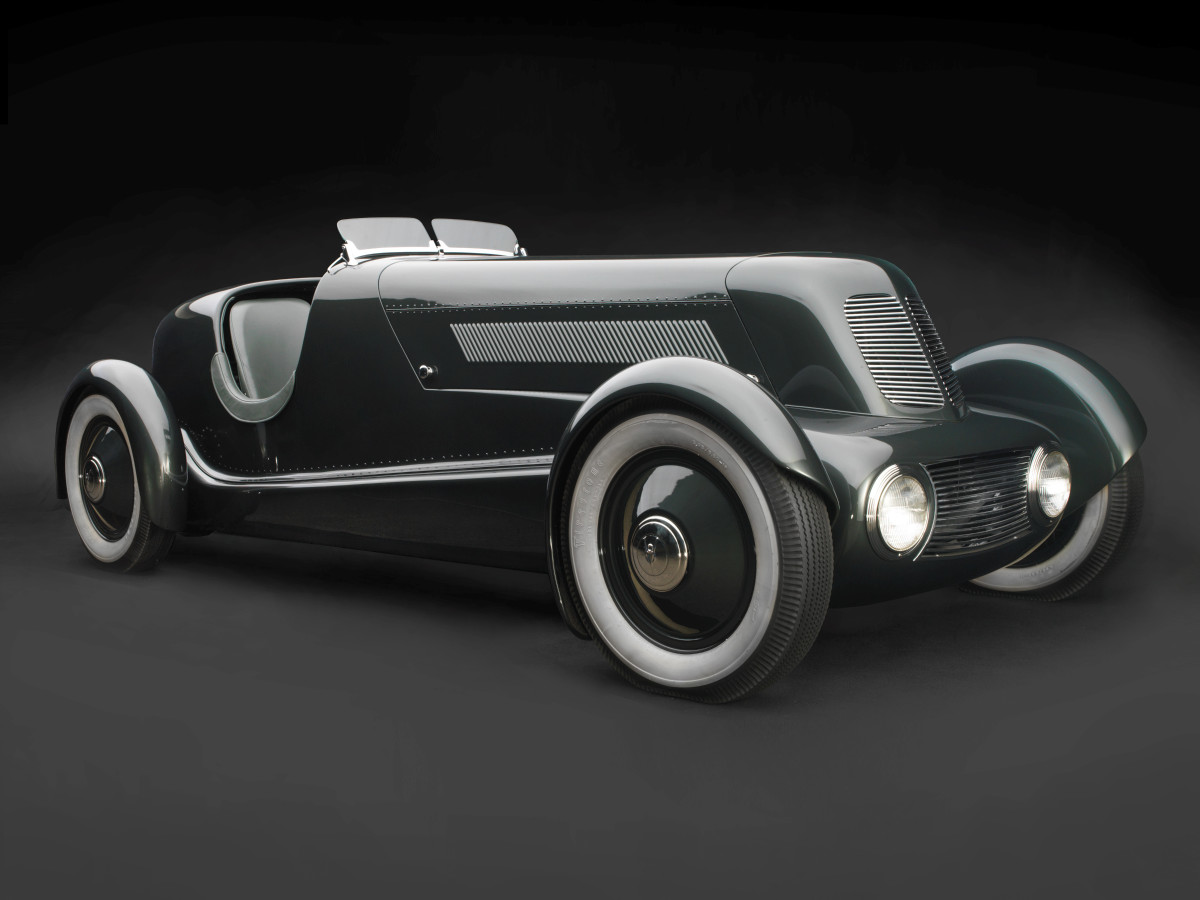 Sculpted in Steel, Edsel Ford's Model 40 Special Speedster