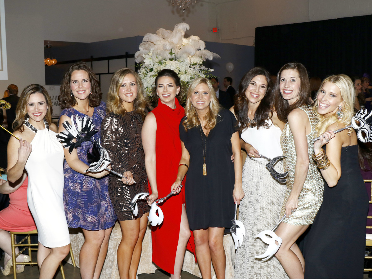 Andrea Earnhart, Whitney Zapffe, Beth Smith, Eve Wiley, Hillary Murff, Meredith Edwards, Meredith Beard, Sloan Milton