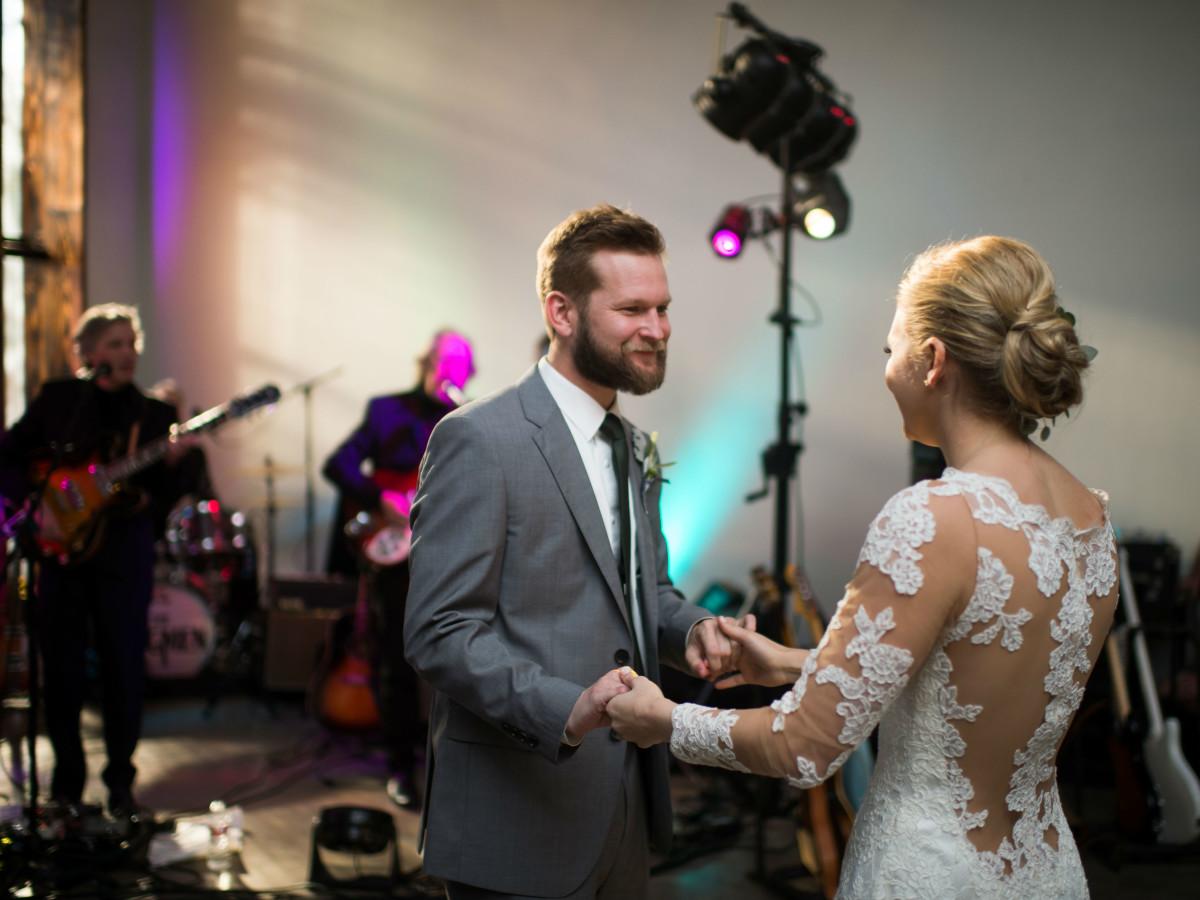 Katie Van Dyk Ben Nelson real wedding-dance