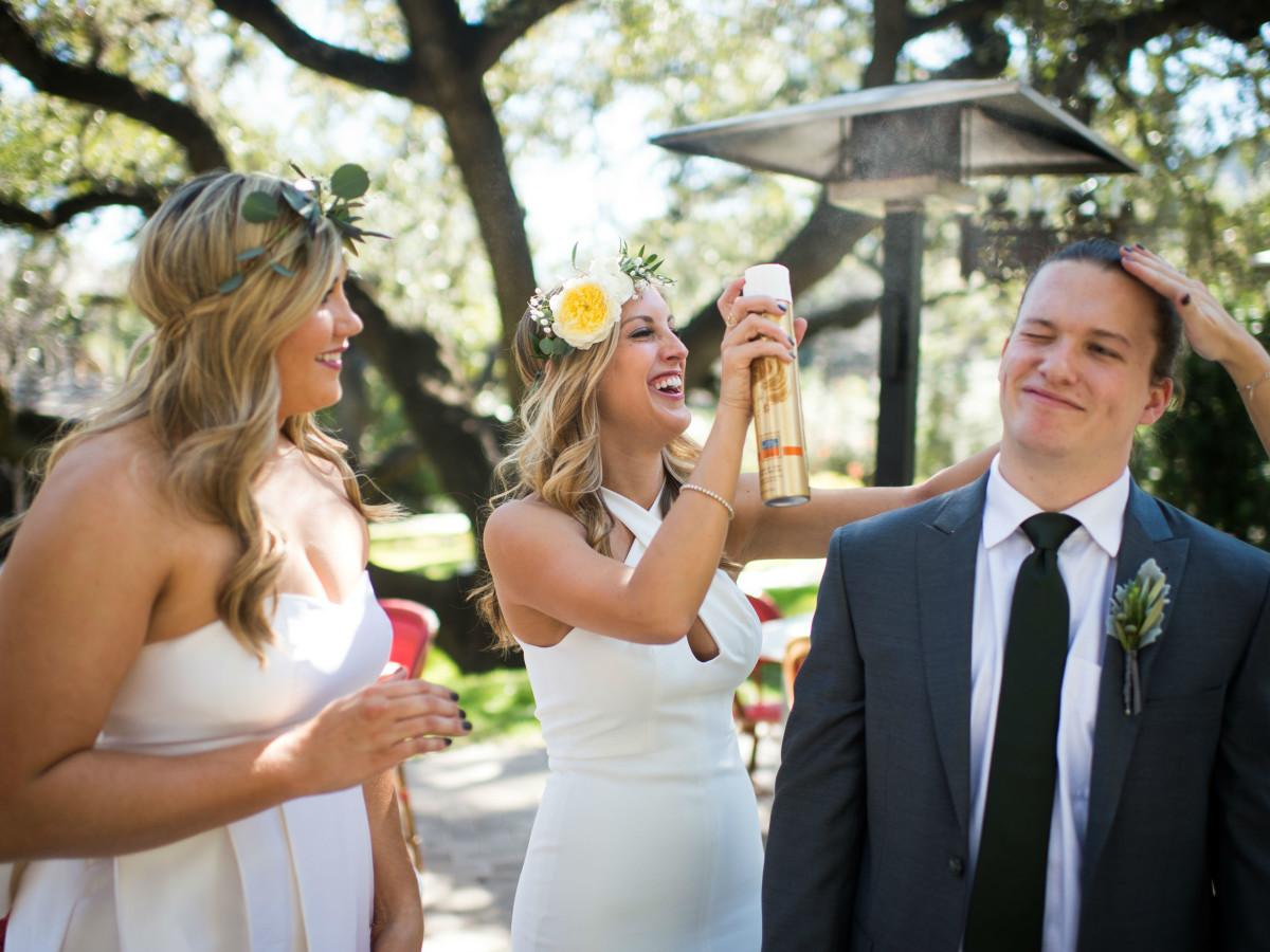 Katie Van Dyk Ben Nelson real wedding-prep