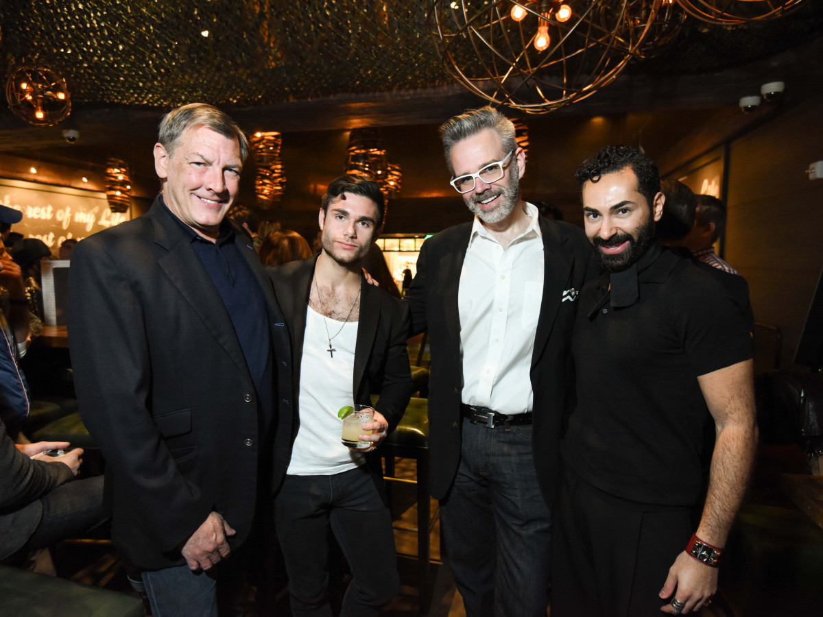 Heart of Fashion at the movies, Feb. 2016,  Neal Hamil, Gabriel Gooley, Michael Pearce, Fady Armanious