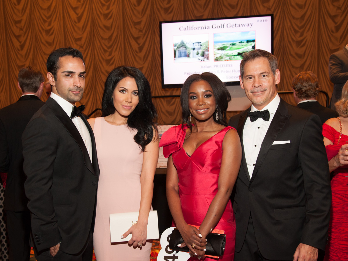 Heart Ball, Feb. 2016,Shawn Kavoussi, Jennifer Kavoussi, Sonya Brown, Howard Brown