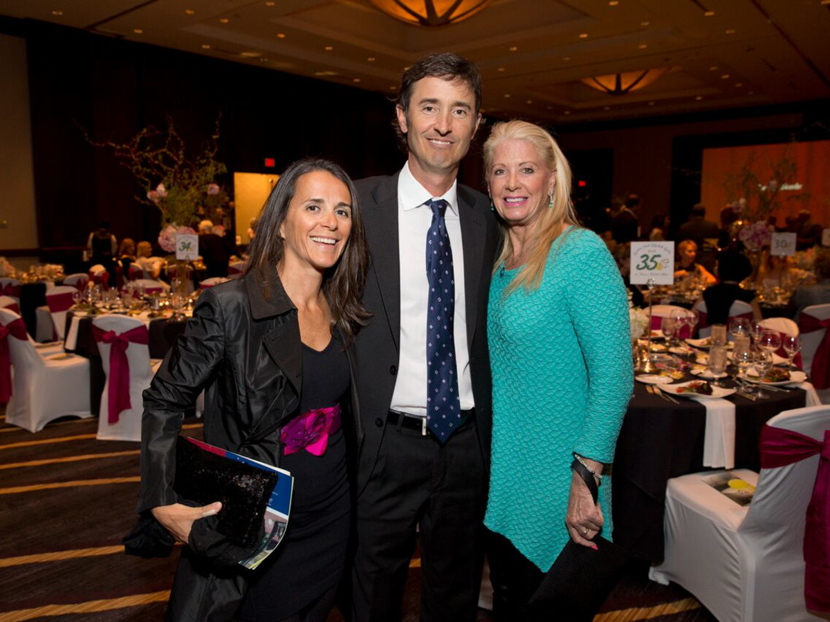 Tennis gala, Feb. 2016, Pilar May, Mike May, Jan Vick