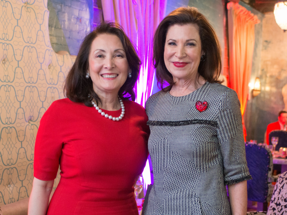 Houston Sweethearts, Feb. 2016, Penny Loyd and Betty Hrncir