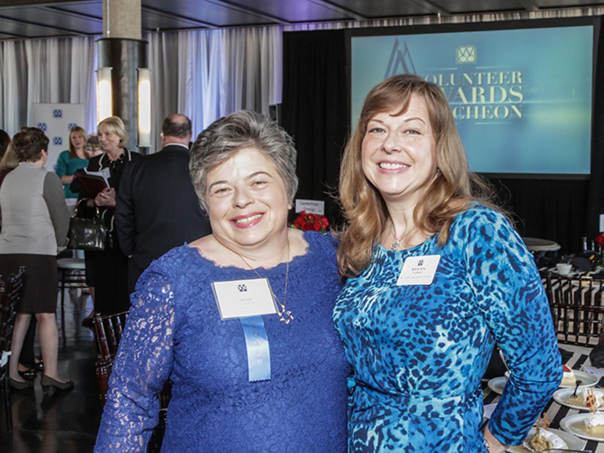 Greater Houston Women's Chamber of Commerce luncheon, Feb. 2016,Irene Helsinger, Kristen Turner