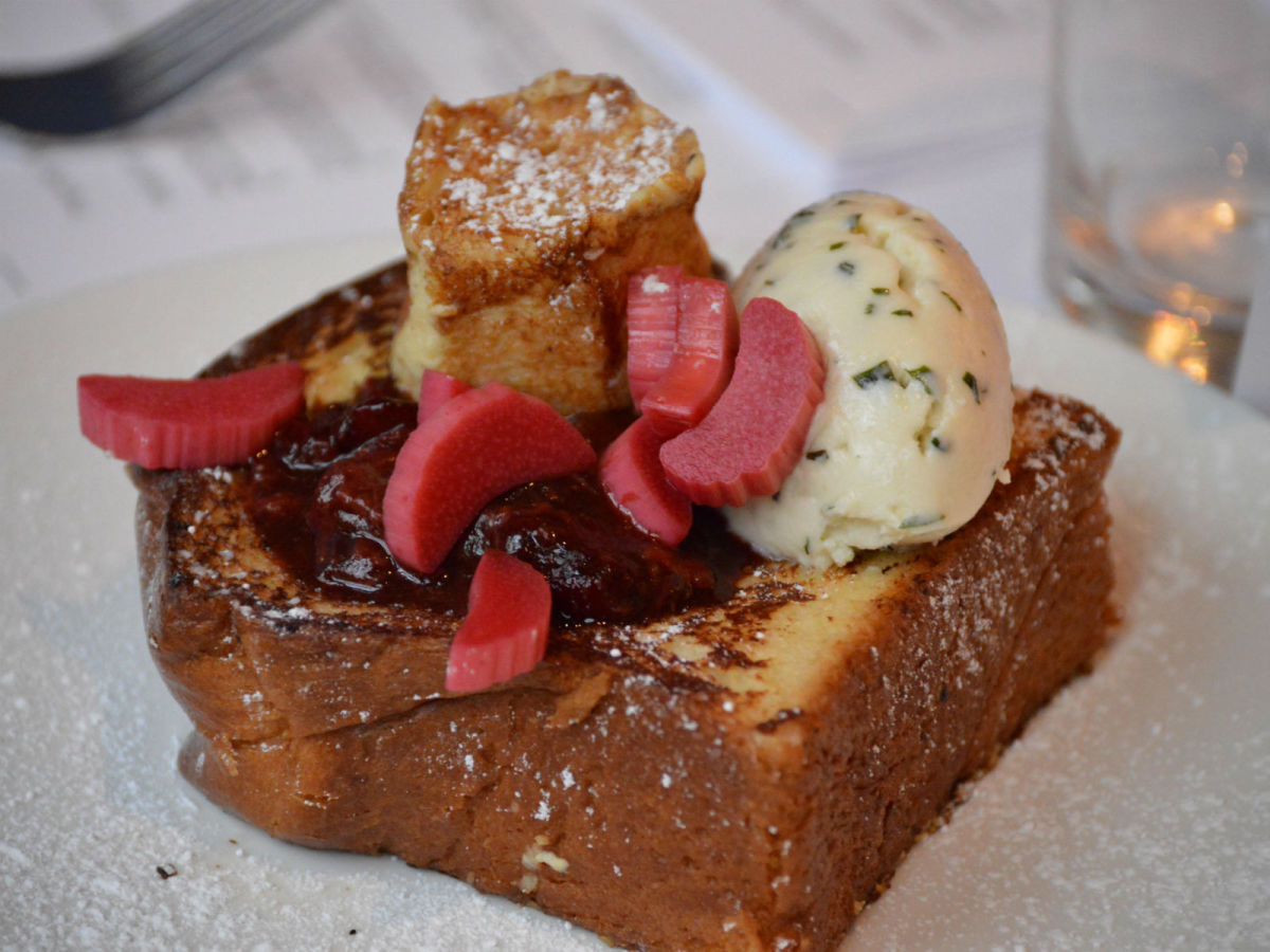 Dragonfly French toast