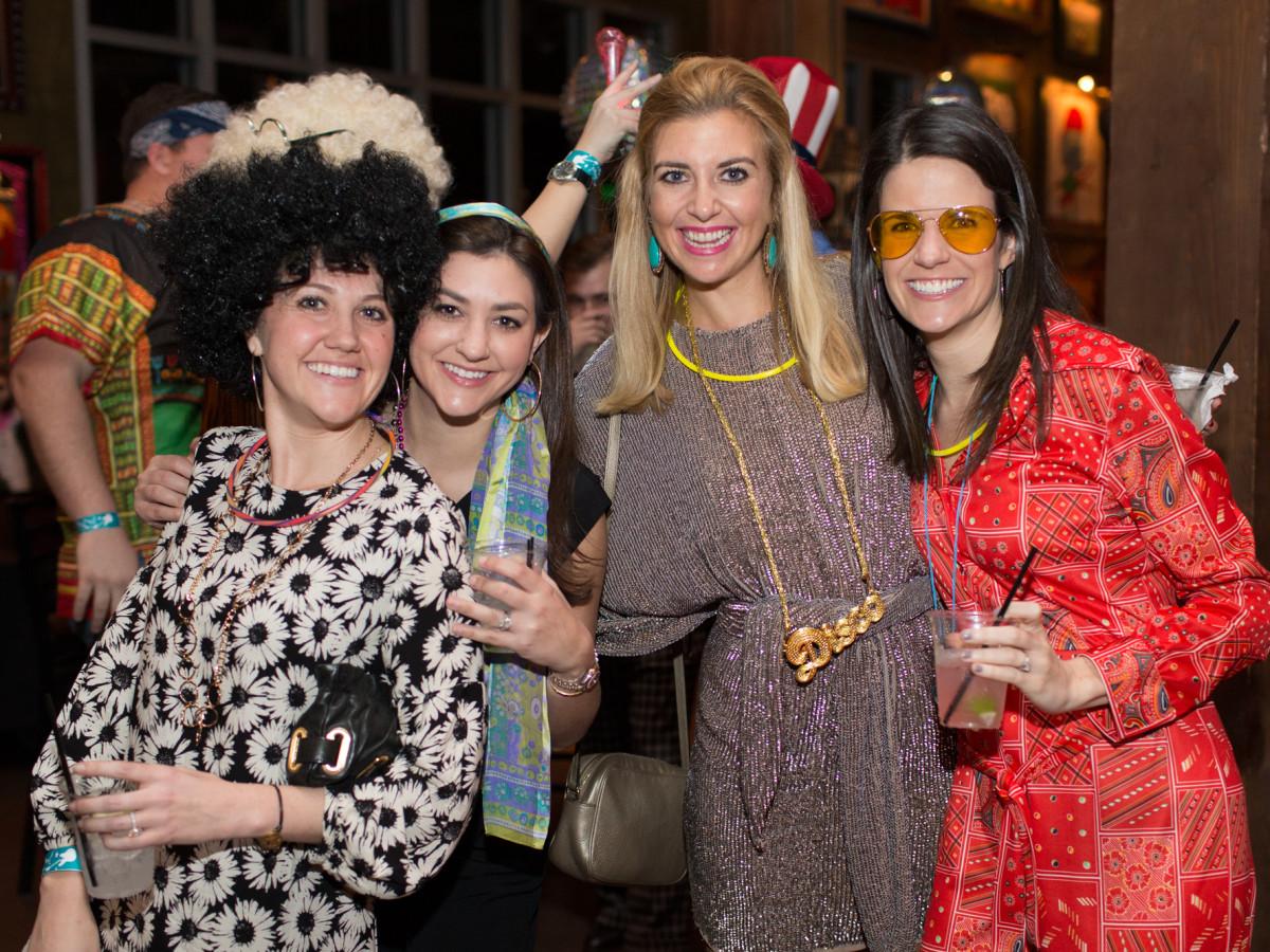 TIRR Foundation gala, Feb. 2016,Caroline Reed, Jennifer Kaldis, Hayley Vaughan, Ellen Doramus