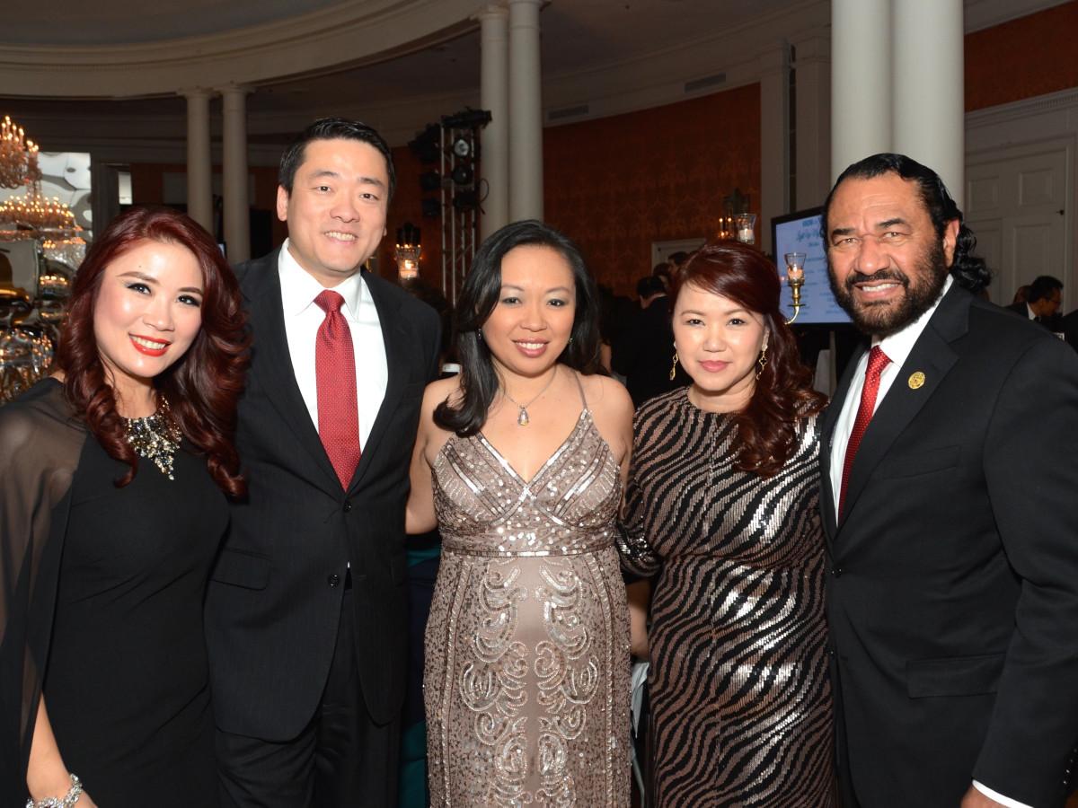 Know Autism Gala, Feb. 2016, Christina Zhou, Gene Wu, Miya Shay, Tammy Tran Nguyen, Al Green