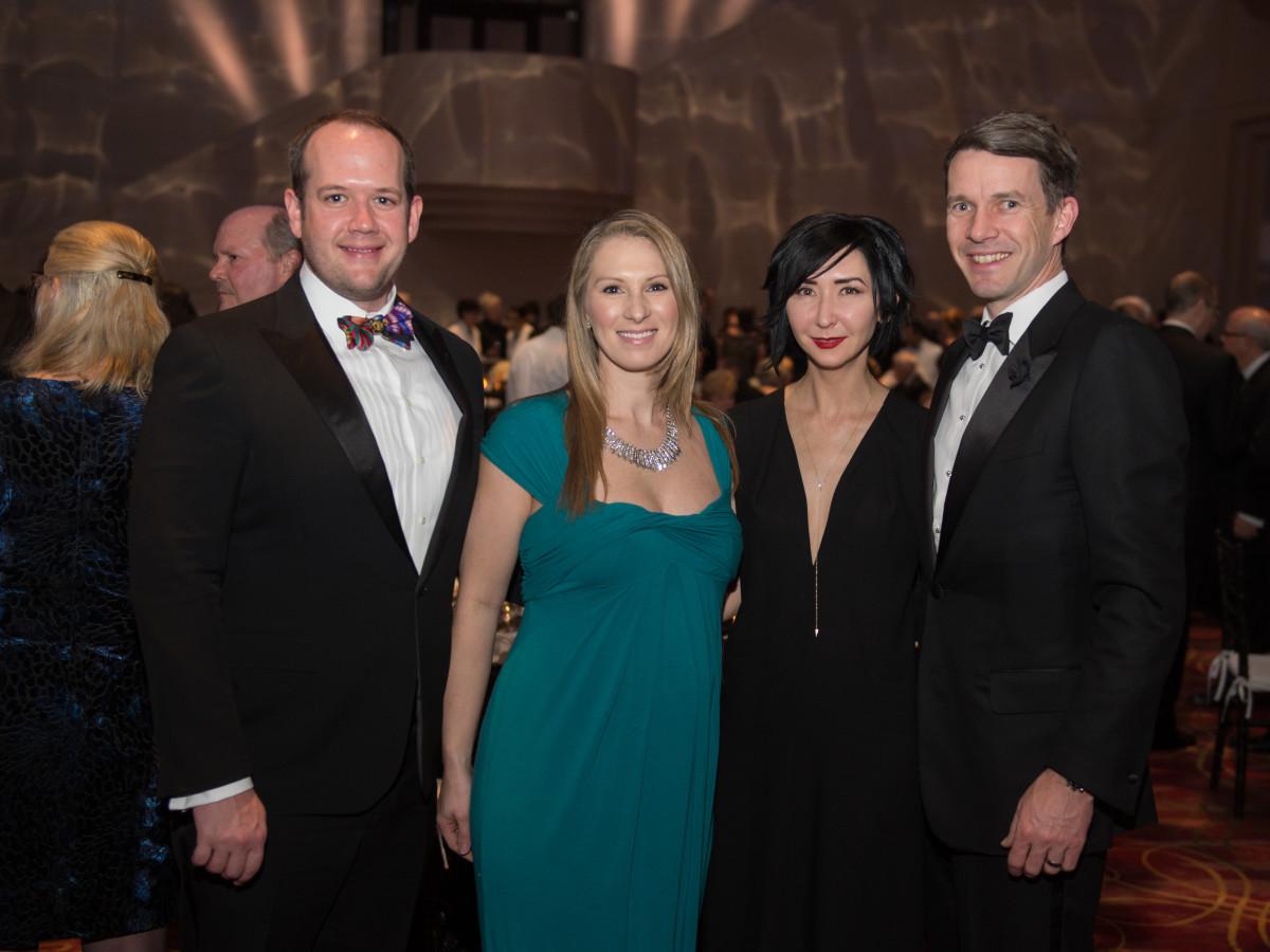 HGO Concert of Arias, Feb. 2016, Dr. Warren Ellsworth, Dr. Rachel Ellsworth, Carrie Brandsberg-Dahl, Sverre Brandsberg-Dahl