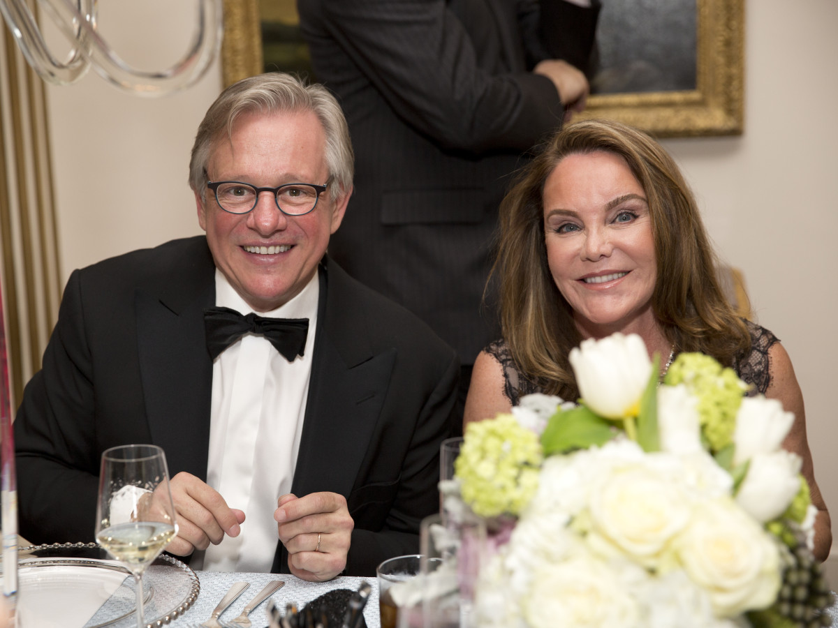 Rienzi society dinner, Feb. 2016, John Cotts, Colleen Cotts