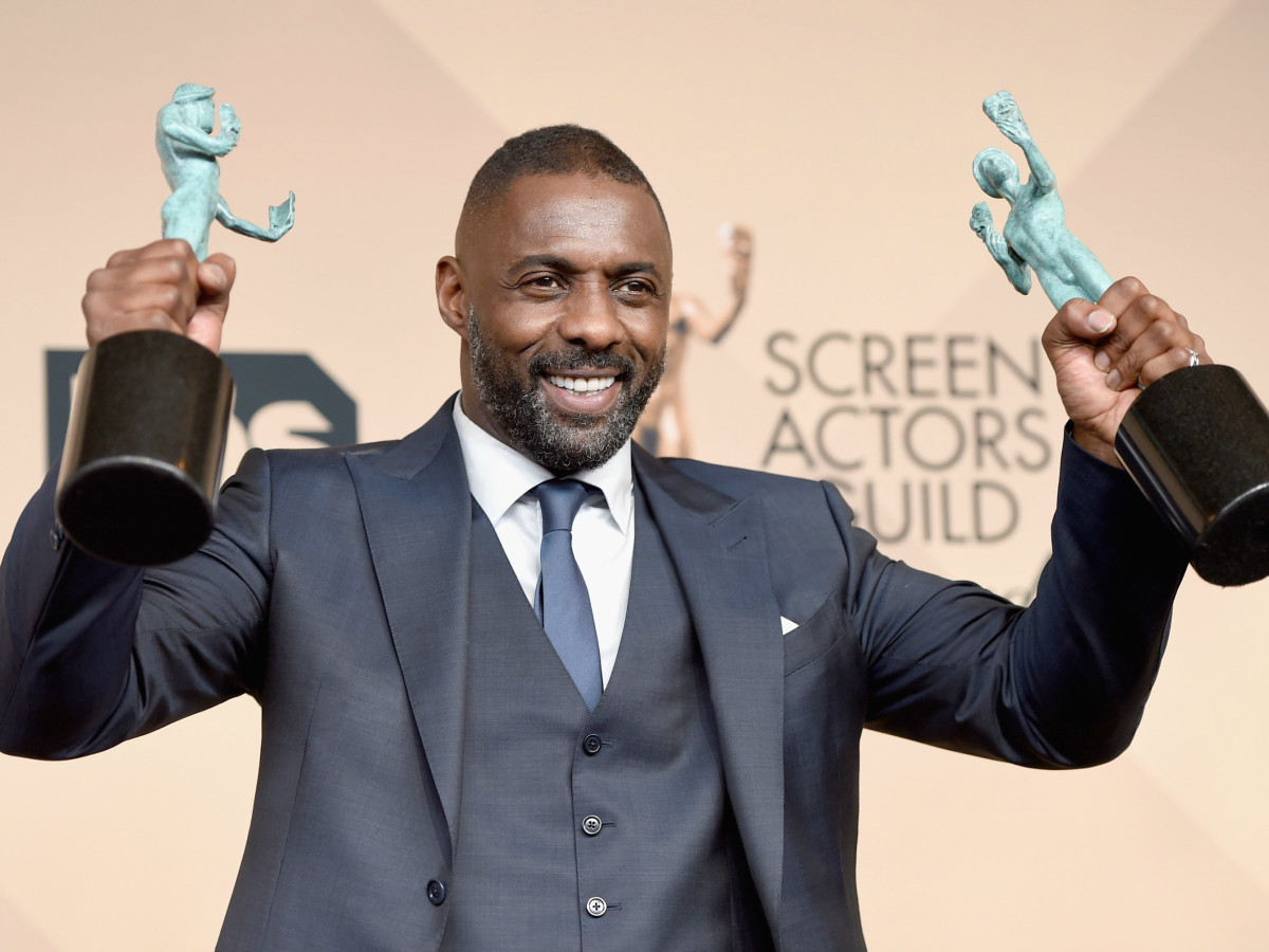 Idris Elba at Screen Actors Guild Awards
