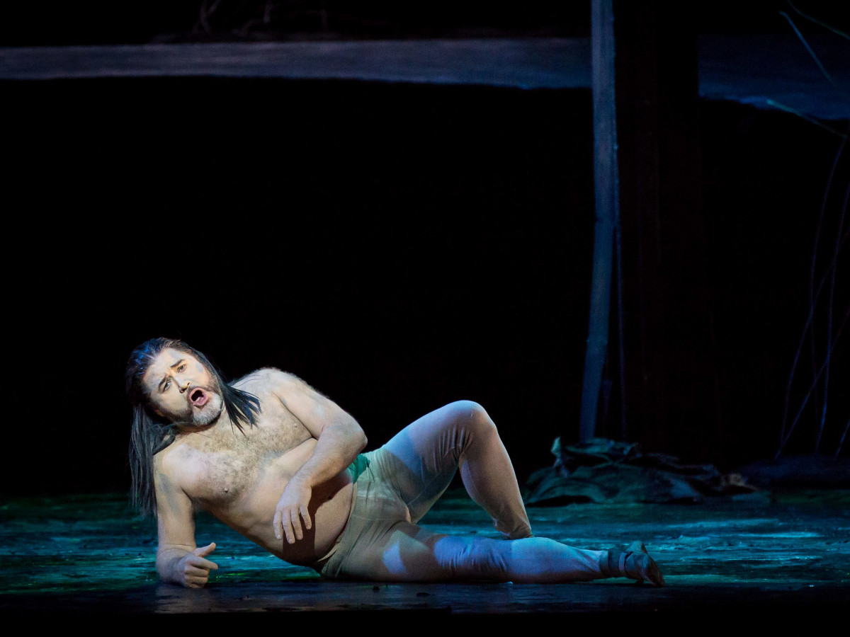 Richard Paul Fink in Houston Grand Opera production of Rusalka