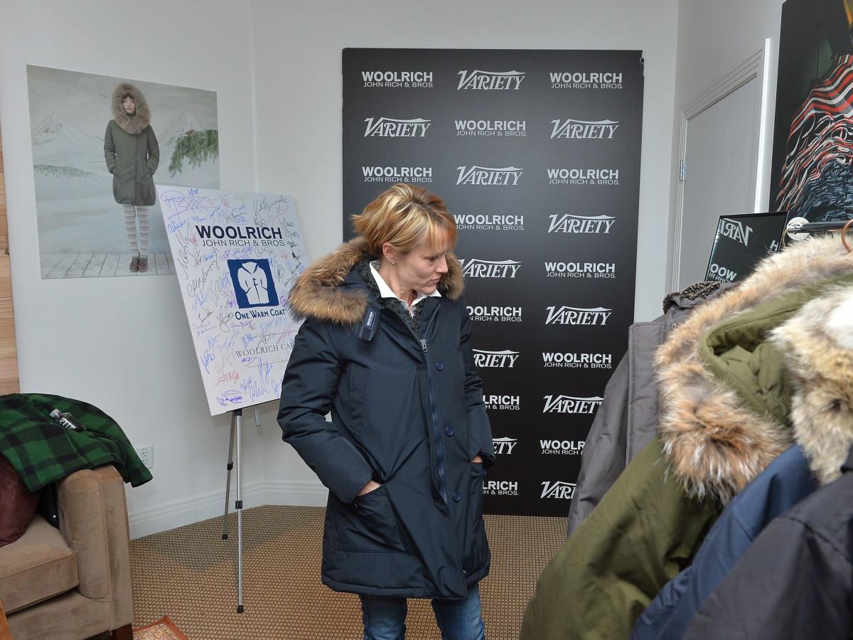Mary Stuart Masterson gets some swag at Sundance FIlm Festival
