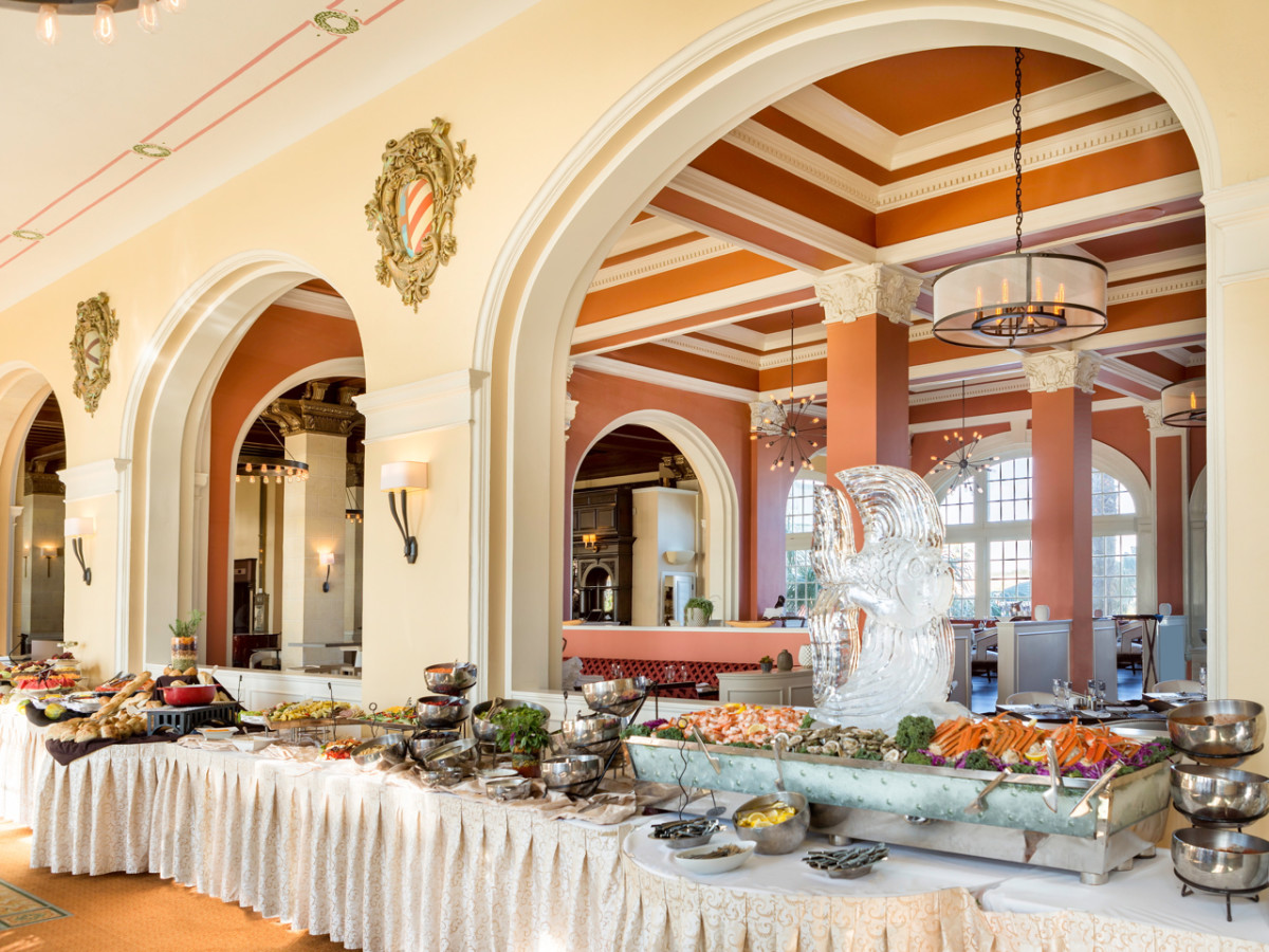 Sunday Brunch at Hotel Galvez
