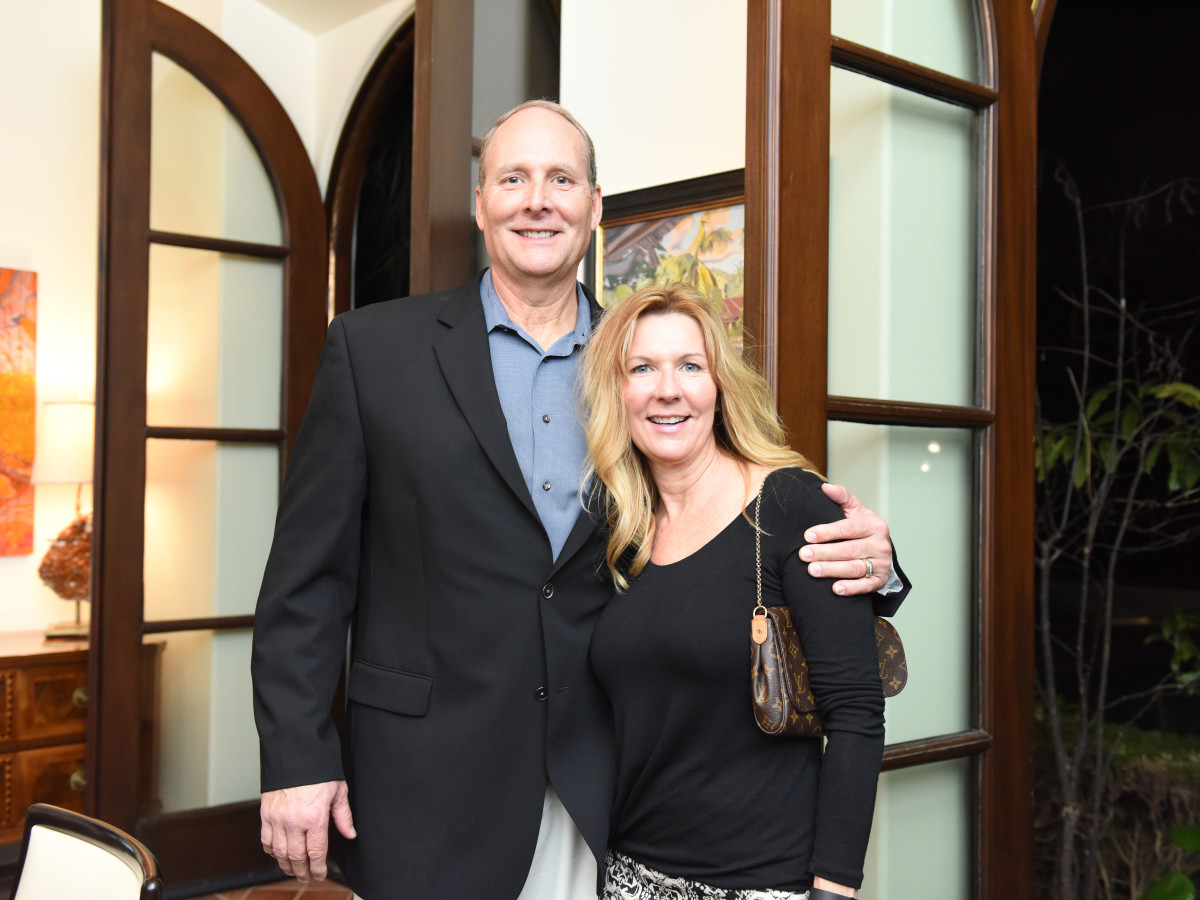 Houston, JDRF Promise Ball kick off party, January 2016, Mike and Terri Schnakenberg