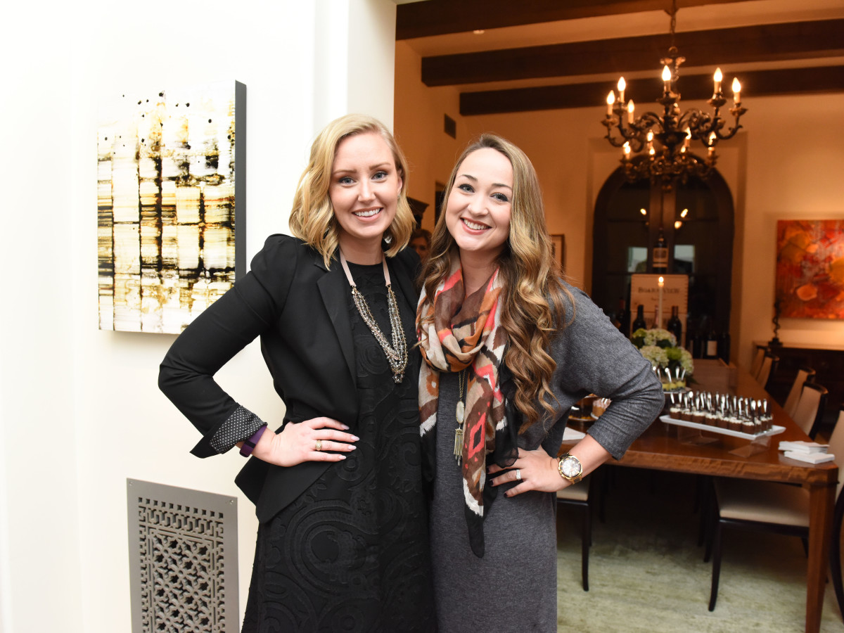 Houston, JDRF Promise Ball kick off party, January 2016, Kristin Putnam, Haley Depping