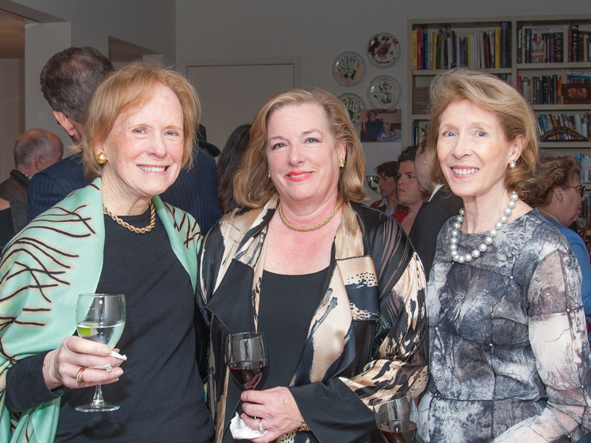 Houston, Da Camera VIP launch event for Sarah's Marcel Proust Project,  Lenox Reed, Molly Crownover, Julie Kemper.
