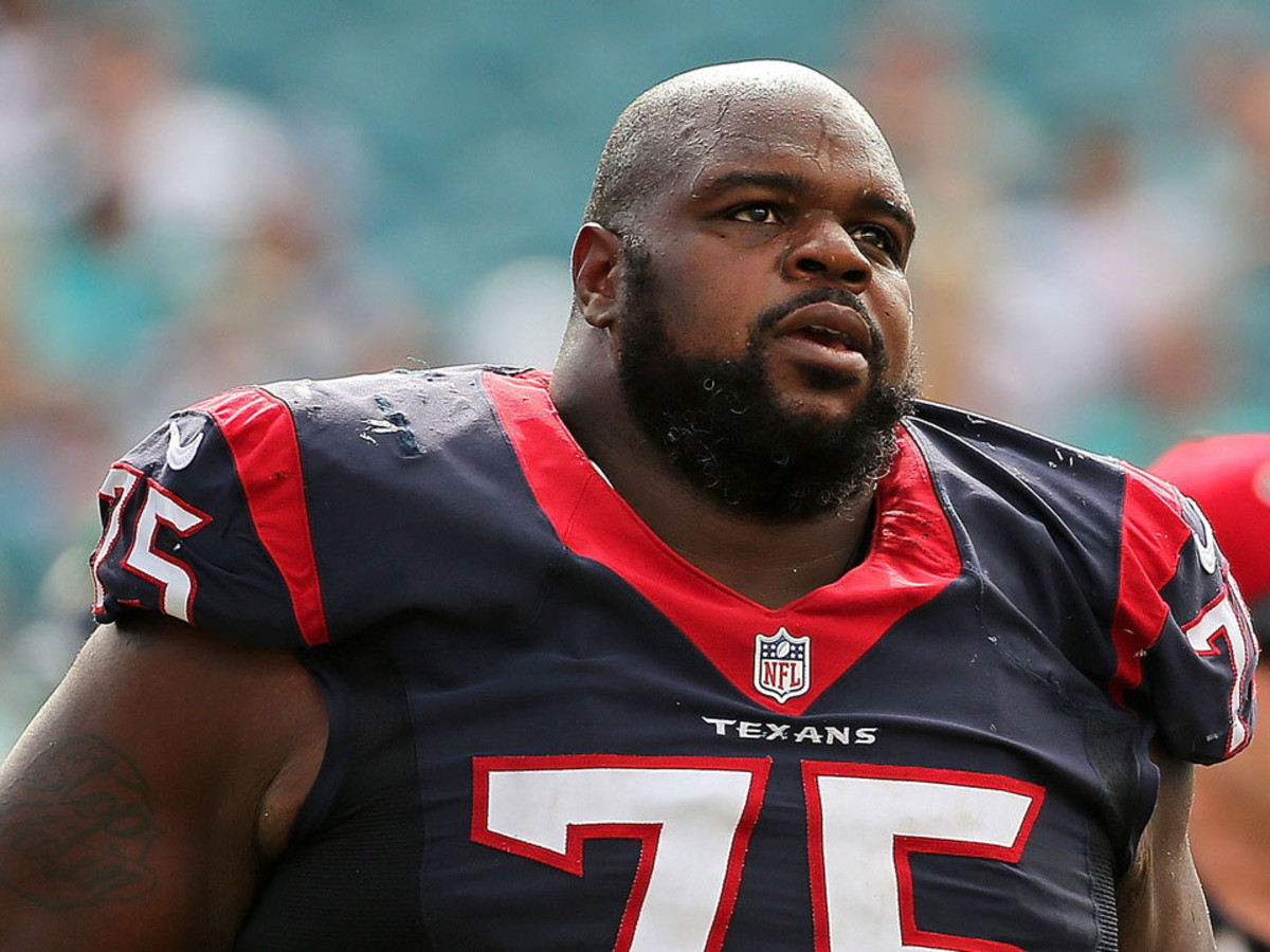 Vince Wilfork Houston Texans defensive tackle