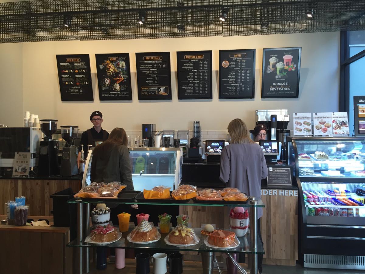 Caffe Bene Greenstreet coffee shop