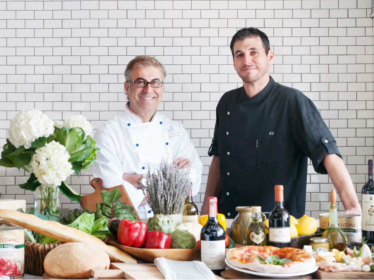 Daniele Puleo and Ryan Olmos of CiboDivino in Dallas