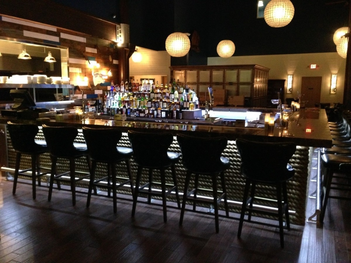 Number 13 Galveston bar