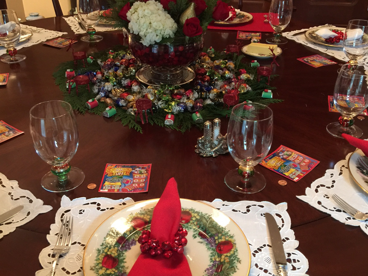 News, Table tops, Cathy, Dec. 2015