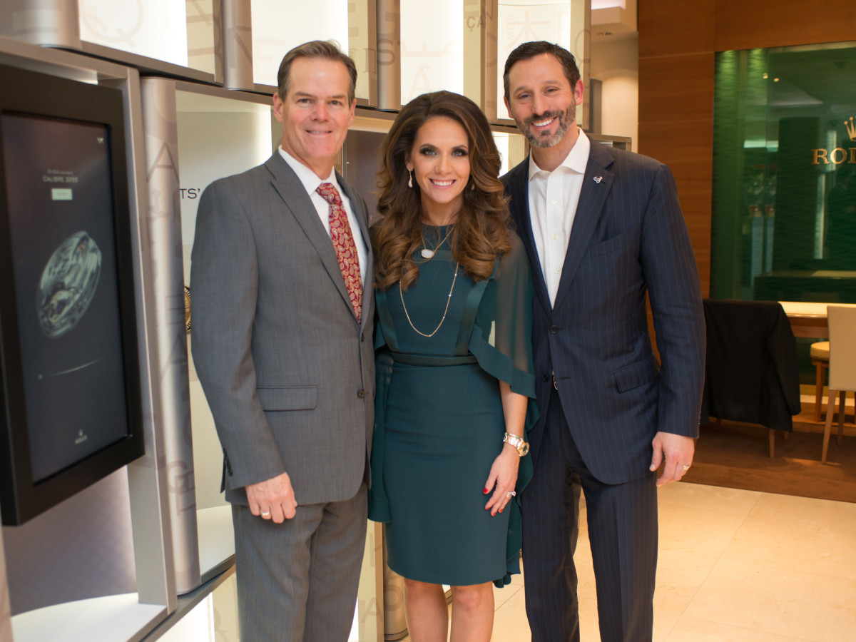 News, IW Marks Rolex Event, Dec. 2015, Jeff Cotton, Joanna Marks, Brad Marks