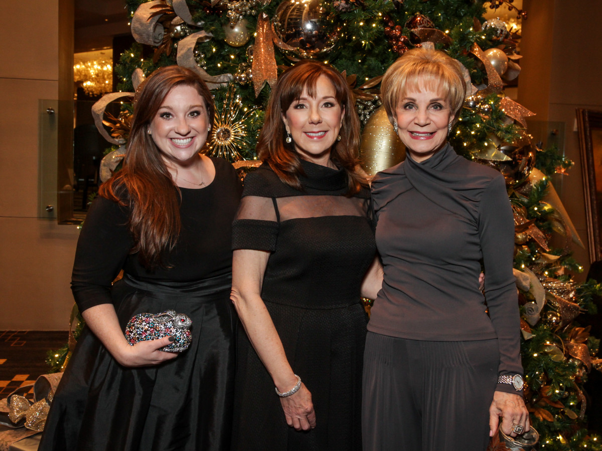 News, Greater Houston Women's Chamber of Commerce Gala, Dec. 2015, Laura Stein, Elizabeth Stein, Leisa Holland-Nelson