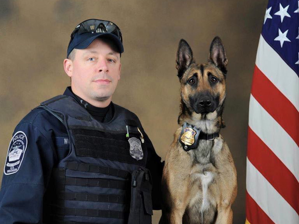K9s4COPS officer with dog