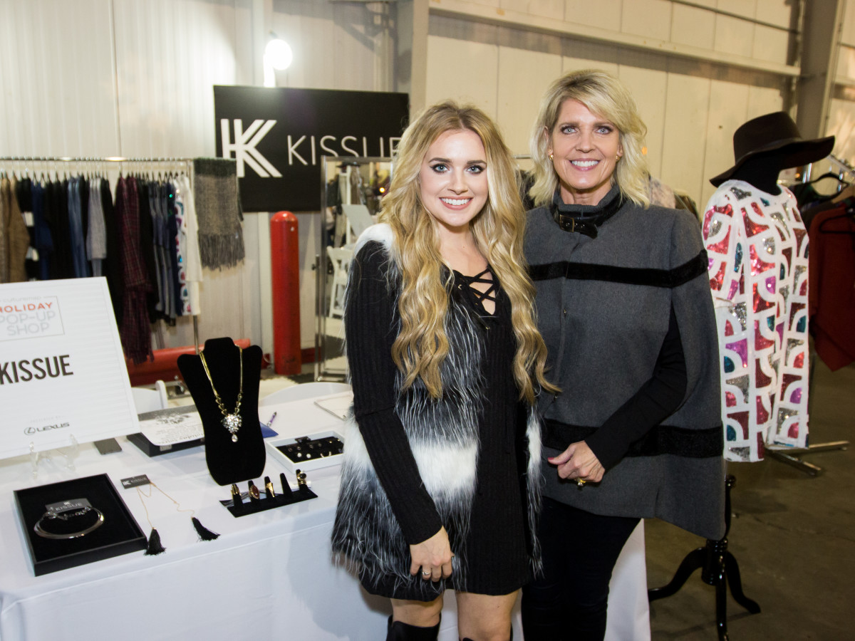 News, CM Holiday Pop-Up Shop , Dec. 2015, Kailey McCollum (owner/co-founder), Bridget Tissue