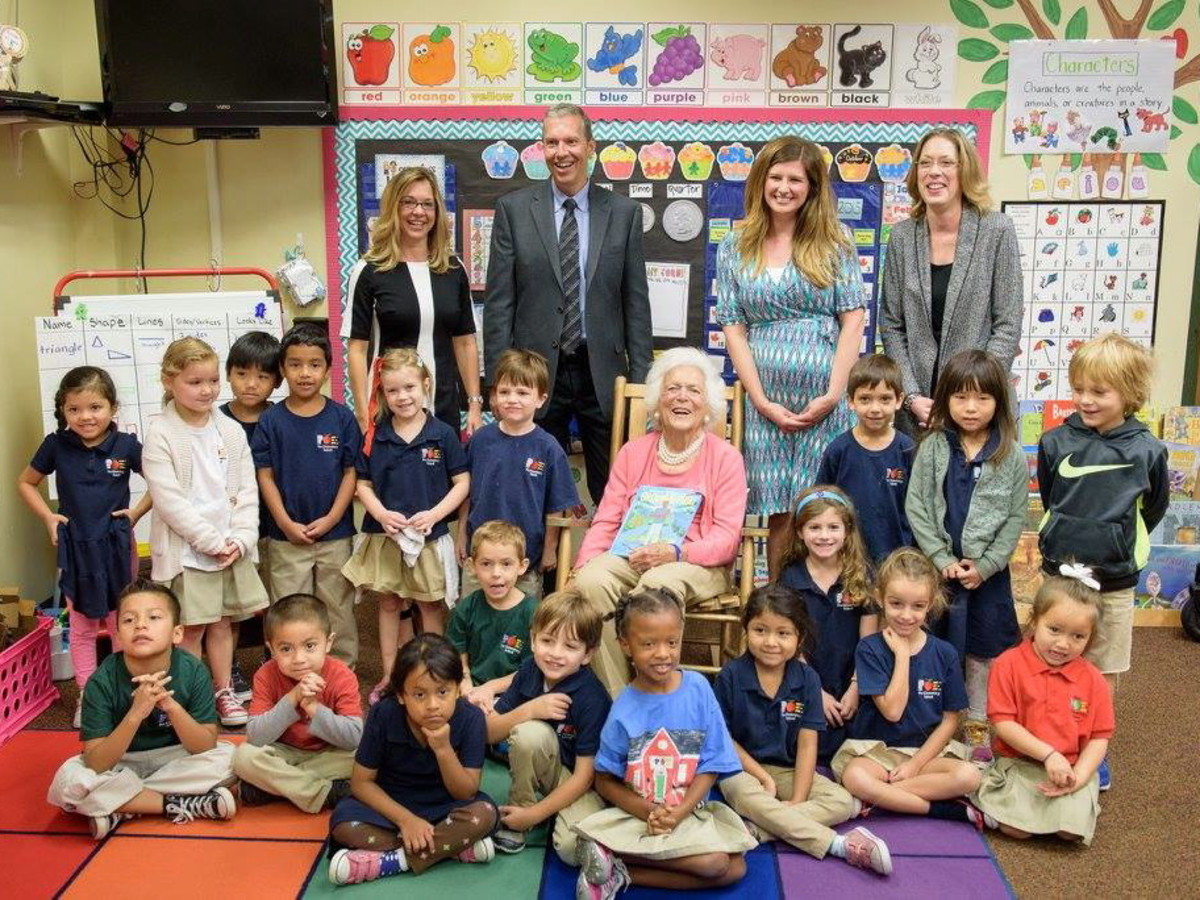 Barbara Bush Houston Literacy Foundation reading
