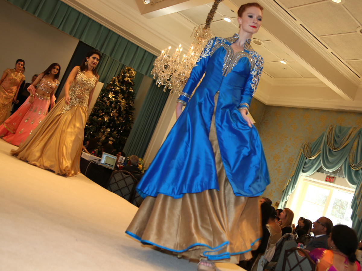 Pratham Holiday Party models