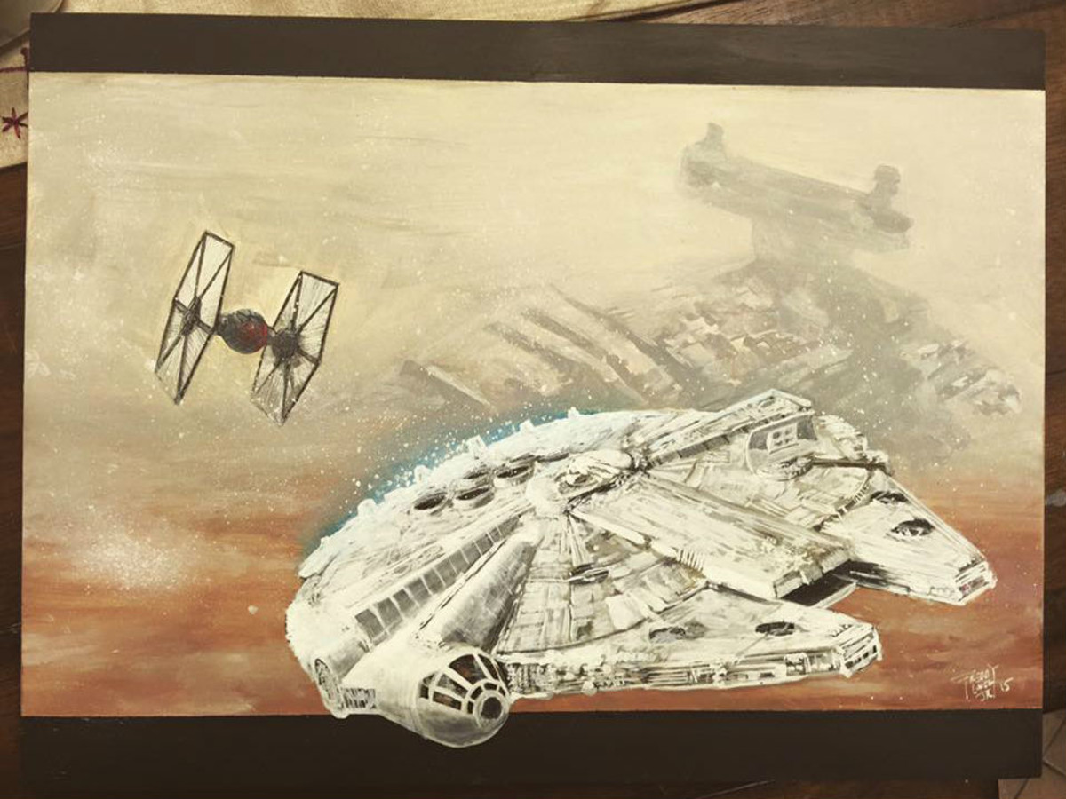 Star Wars: The Force of Art gallery