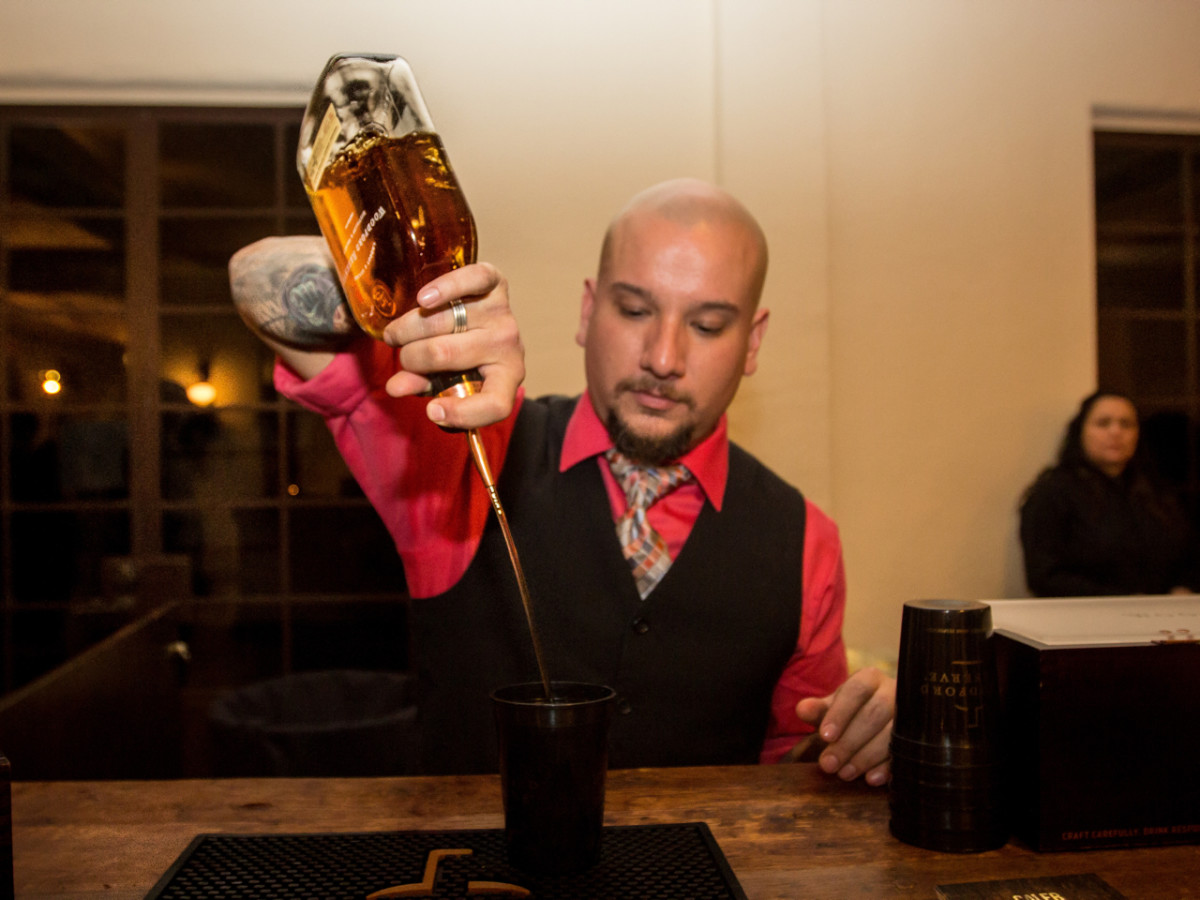 Woodford Reserve event Houston Caleb Gutierrez (Stone's Throw)