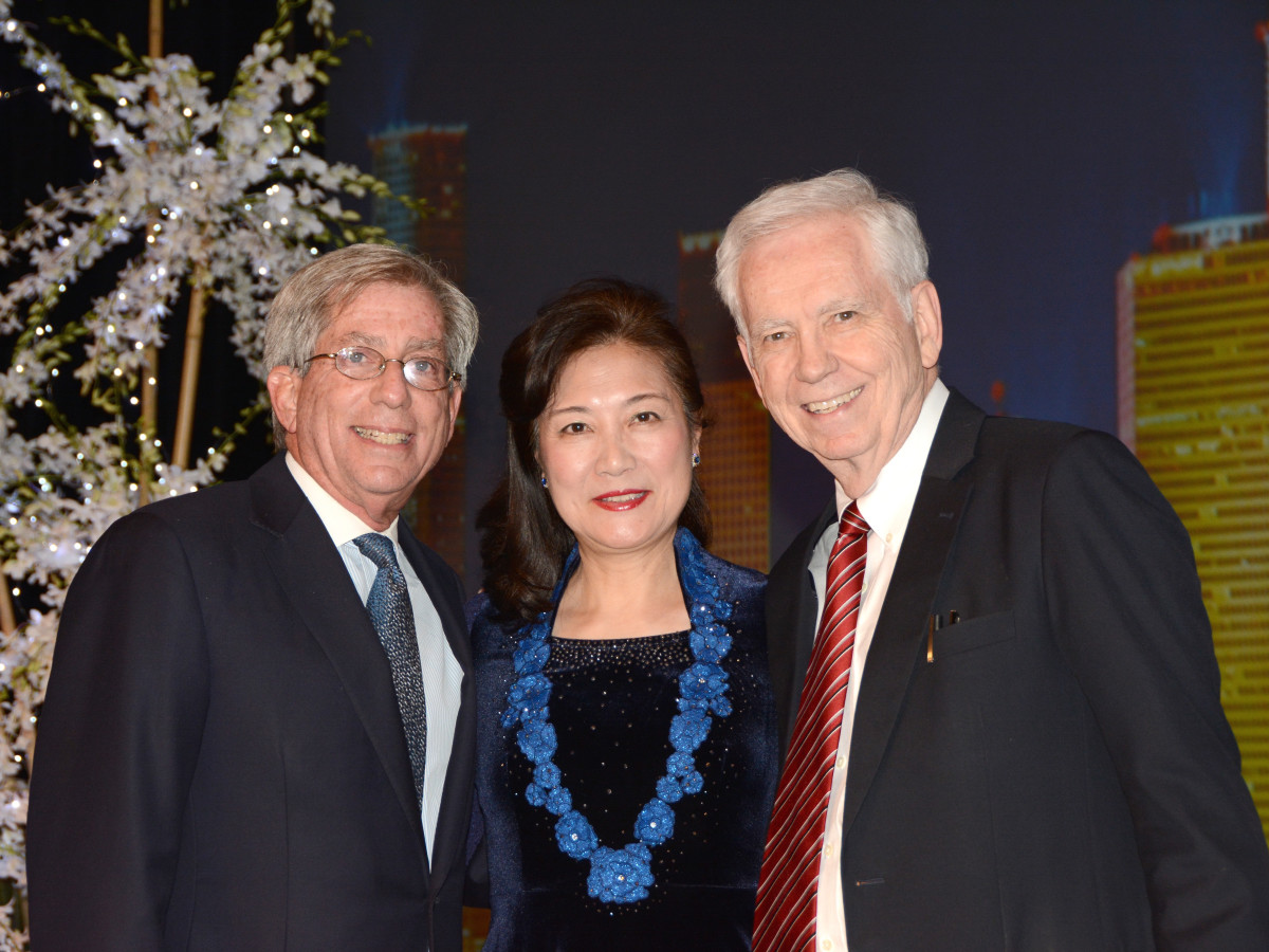 News, Houston Treasures, Dec. 2015, Fred Zeidman, Lily Foster, Charles Foster