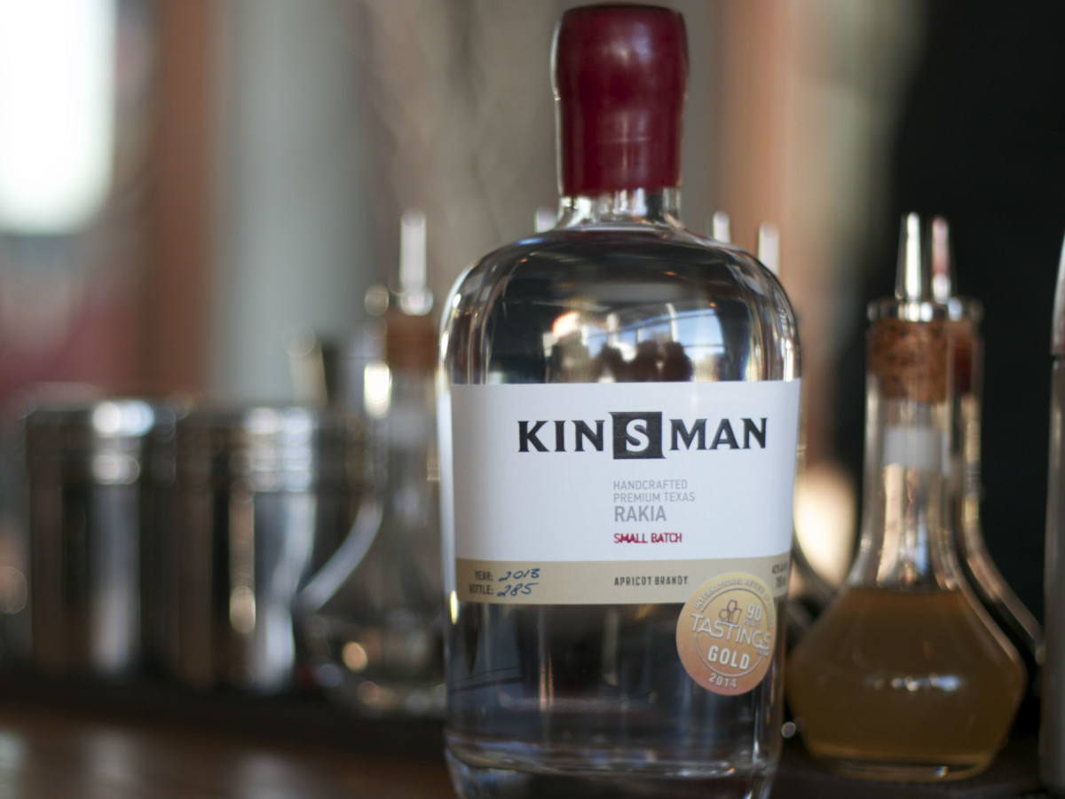 Rakia Kinsman Bottle
