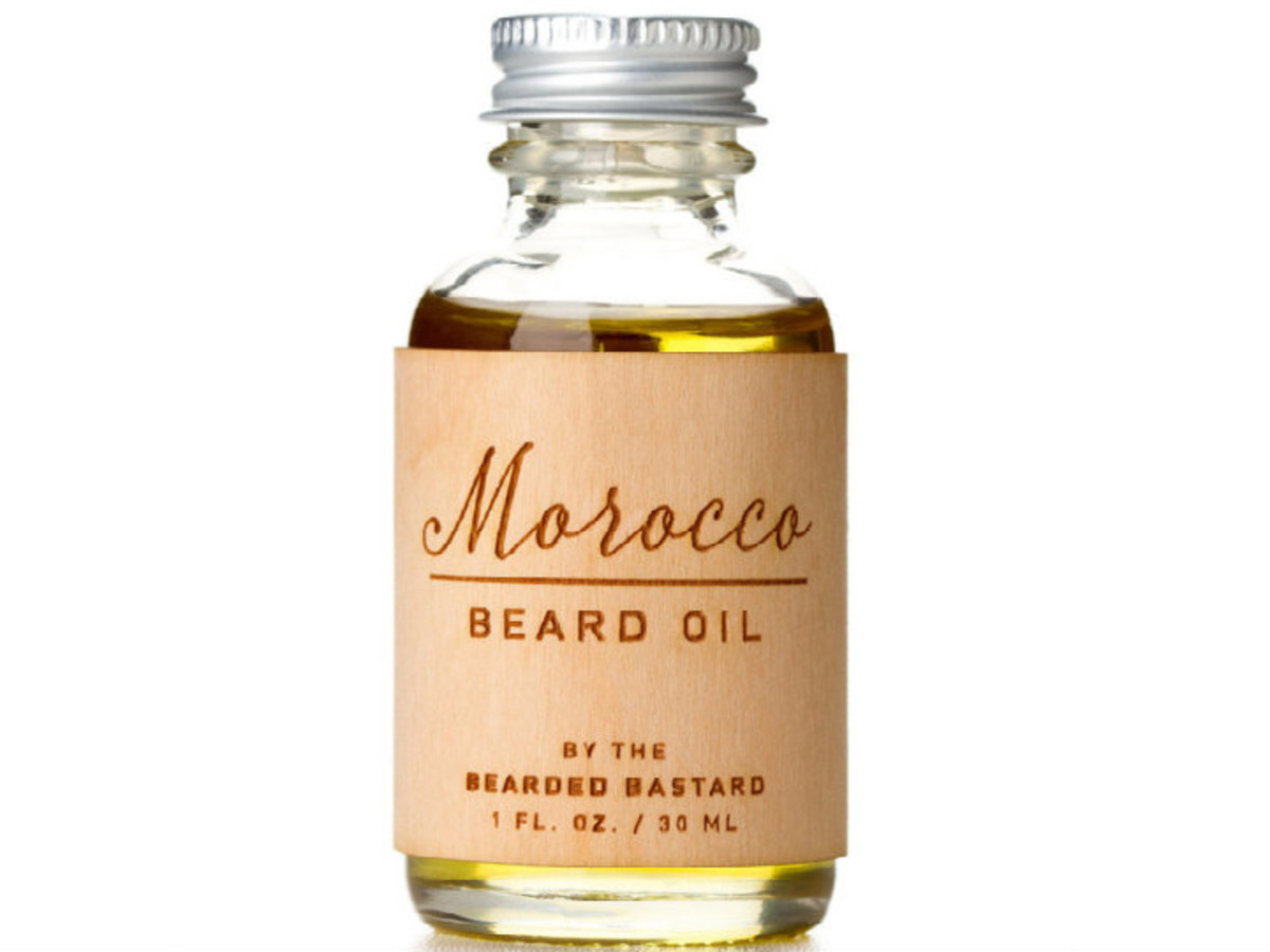 Moroccan Beard Oil The Bearded Bastard