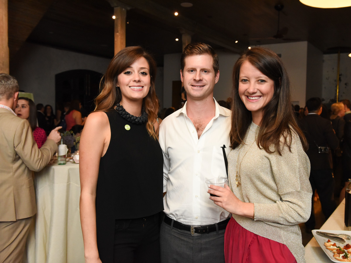 News, Pier & Beam party, Dec. 2015, Olivia Persia, Lloyd French, Alice Johnson