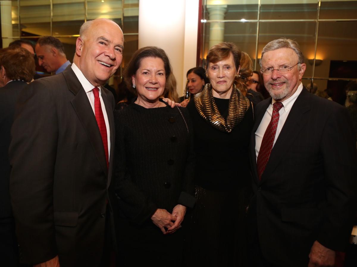 News, Houston Ballet Jubilee of Dance, Dec. 2015, Joe Hafner, Merrill Hafner, Sharon Erskine, Donald Erskine