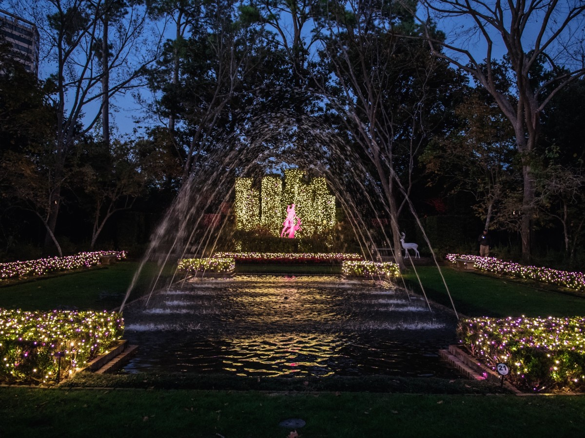 News, Bayou Bend Christmas Village, Dec. 2015